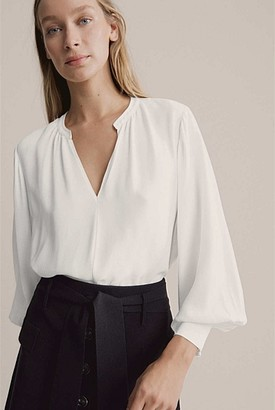 Witchery Balloon Sleeve Shirt