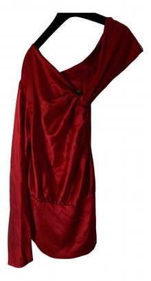 Silvia Tcherassi Silviatcherassi Red Silk Tops