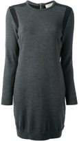 MICHAEL Michael Kors contrast panel sweater dress