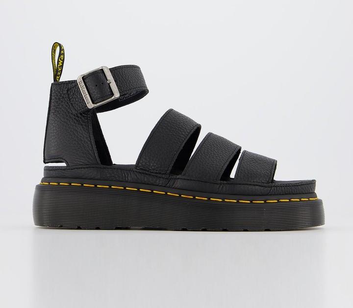 Dr. Martens Clarissa II Quad Sandals Black