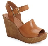 Topshop Women's 'Willow' Platform Wedge Sandal