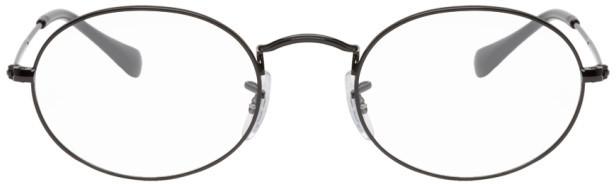 Ray-Ban Black Shiny Glasses