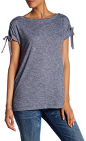 Max Studio Tie Sleeve Swing Tee