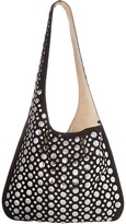 Elizabeth and James Courier Bag w/ Rivets Hobo Handbags