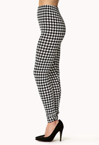 Forever 21 Retro Houndstooth Leggings