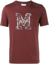 Maison Margiela logo print t-shirt - men - Cotton - 46