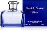 Ralph Lauren Blue Eau de Toilette Spray, 4.2 fl. oz.
