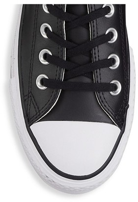 Converse Chuck Taylor All Star Leather Platform Low-Top Sneakers