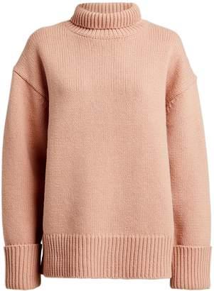 Victoria Victoria Beckham Victoria, Victoria Beckham Oversized Wool Turtleneck