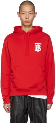Burberry Red Monogram Landon Hoodie