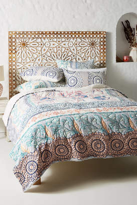 Anthropologie Artisan Quilts By Morelia Quilt