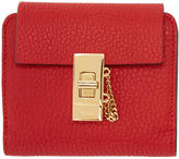 Chloé Red Square Drew Wallet
