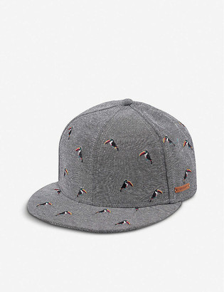 Barts Al Pauk toucan-embroidered cotton-blend baseball cap 0-8 years