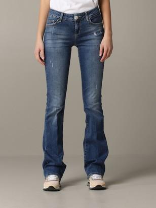 Liu Jo Flared Jeans With Breaks