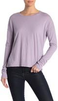 Velvet Colene Solid Dolman Sleeve Slub T-Shirt