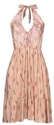Kristina Ti Knee-length dress