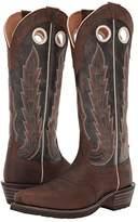 Ariat Heritage Buckaroo (Chocolate Crunch/Brooklyn Brown) Cowboy Boots