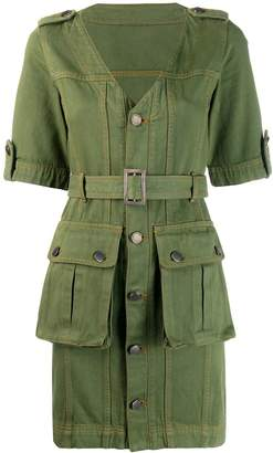 House of Holland military mini dress