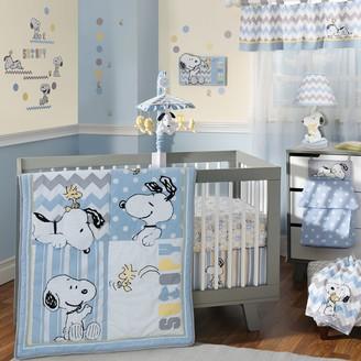 Lambs & Ivy Peanuts My Little Snoopy 4-pc. Crib Bedding Set
