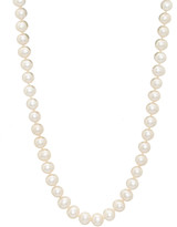 Pearls 14K 7-7.5Mm Freshwater Pearl Necklace