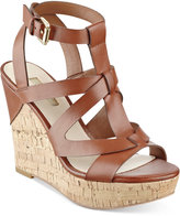 GUESS Women's Harlea Wedge Sandals