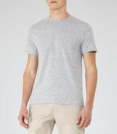 Reiss Sonar Mottled Weave T-Shirt