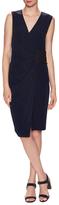 Derek Lam 10 Crosby Wrap Knee Length Dress