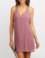 Charlotte Russe Strappy Racerback Shift Dress