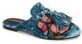 Jeffrey Campbell Women's Apfel Flower Tassel Slide