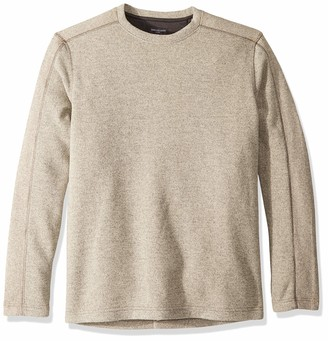 Van Heusen Men's Slim Fit Never Tuck Colorblock Crewneck Pullover Sweater