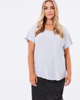 Harlow Taking it Easy Tee - Grey Marle