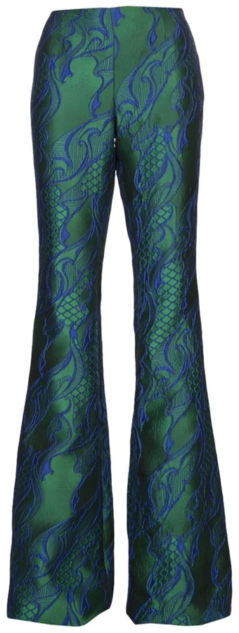 Wes Gordon brocade pattern pant