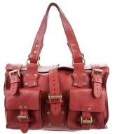 Mulberry Pebbled Leather Tote