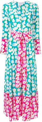 Leone We Are floral print maxi cardigan