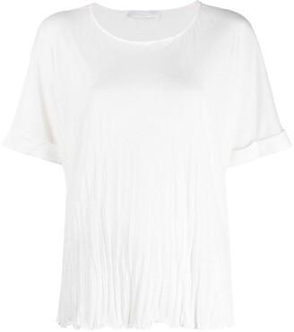 Fabiana Filippi wrinkled effect T-shirt