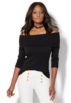 New York & Co. 7th Avenue Design Studio - Off-The-Shoulder Sweater