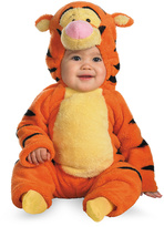 Disguise Tigger Deluxe Plush Dress-Up Outfit - Toddler & Kids