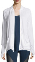 Koral Activewear Veneer Dual Zip-Up Jacket, White