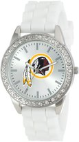 Game Time Women's NFL-FRO-WAS Frost NFL Series 3-Hand Analog Watch