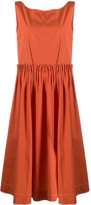 Marni Back Button Flared Dress