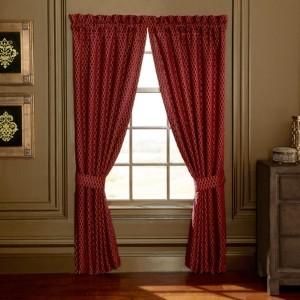 "Croscill Roena 84"" Curtain Panel Pair Bedding"