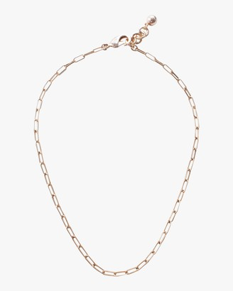 Lulu Frost Rectangle Chain Necklace