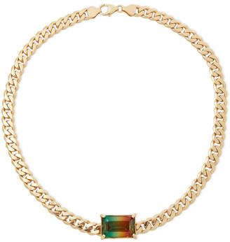 Cornelia Webb Gold-plated Quartz Necklace