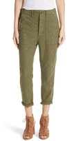 The Great Women's The Slouch Armies Metallic Speckle Pants
