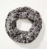 LOFT Rosette Faux Fur Infinity Scarf