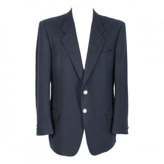 Ungaro Blue Wool Jackets