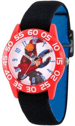Marvel Boy' Guardian Of The Galaxy Evergreen tar-Lord Platic Time Teacher Watch - Black
