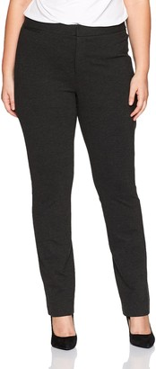NYDJ Women's Plus Size Ponte Knit Trouser Pants