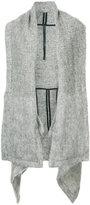 Barbara I Gongini oversized cape jacket