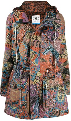 M Missoni Paisley Print Hooded Jacket
